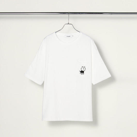 "Pocket T ""Dog"" White"