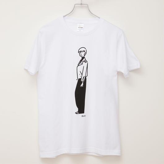 T-shirt Girl03    -White-