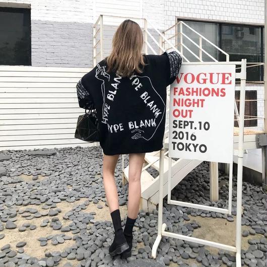 HYPE BLANK 17AW セーター