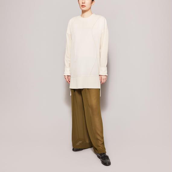 No.6 PRESSED WOOL DRESS