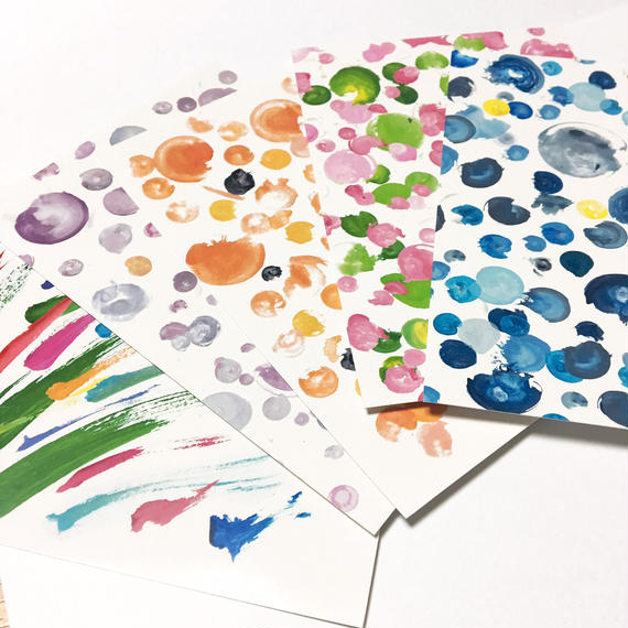 彩色ポストカード5枚セット