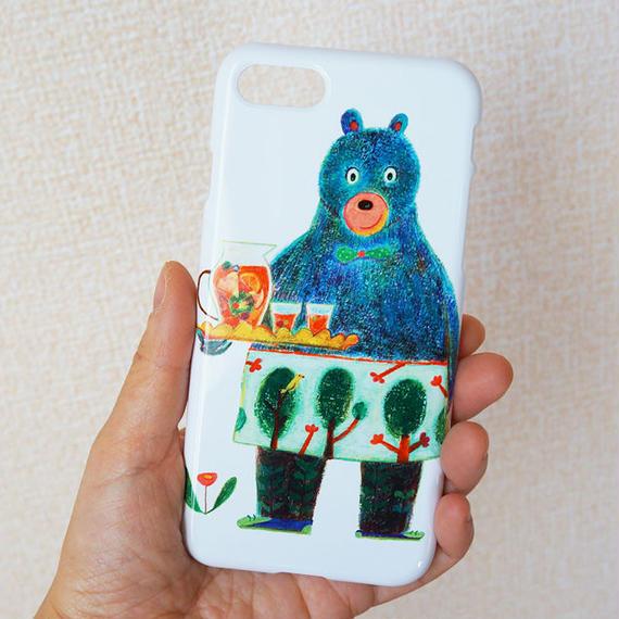 【受注生産】iPhoneケース:フルーツティーの午後
