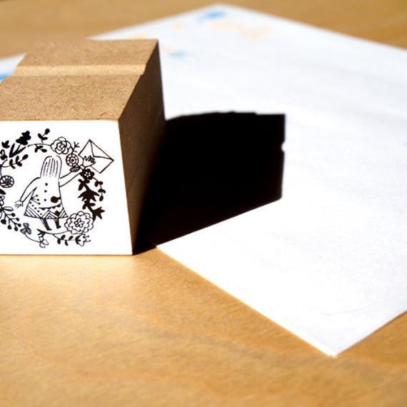 挿絵スタンプ:letter letter