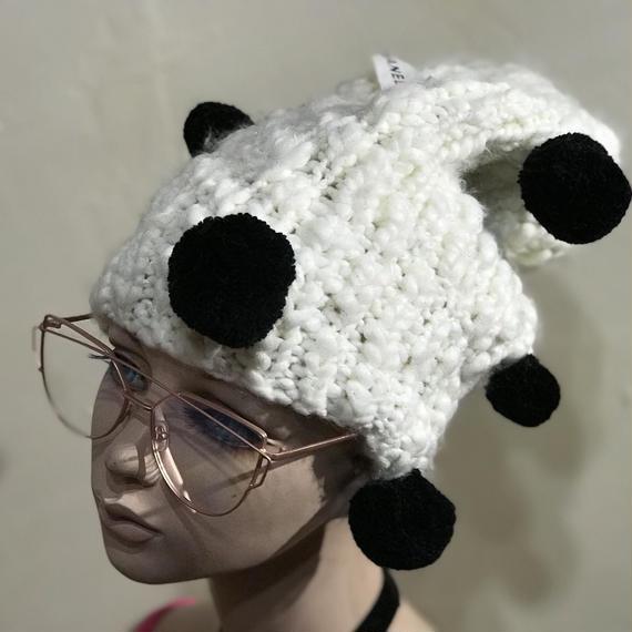 KNIT CAP Pon pon 【ニット帽 ポンポン】