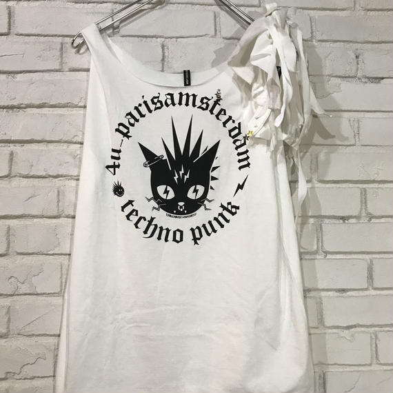 Remake Mini O.P. Punk Cat 【リメイクミニワンピース パンクキャット】