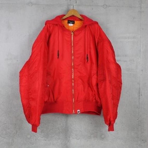 RED■DROPshoulderMA-1JACKET
