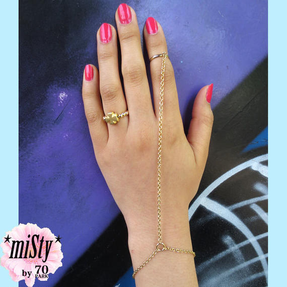 #Chain Ring & Bracelet チェーンリング&ブレスレット