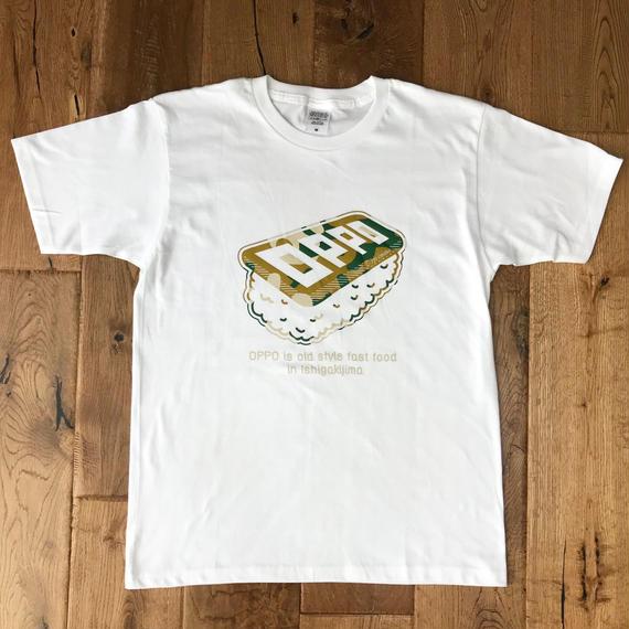 OPPO T-shirt CAMO (WHITE)