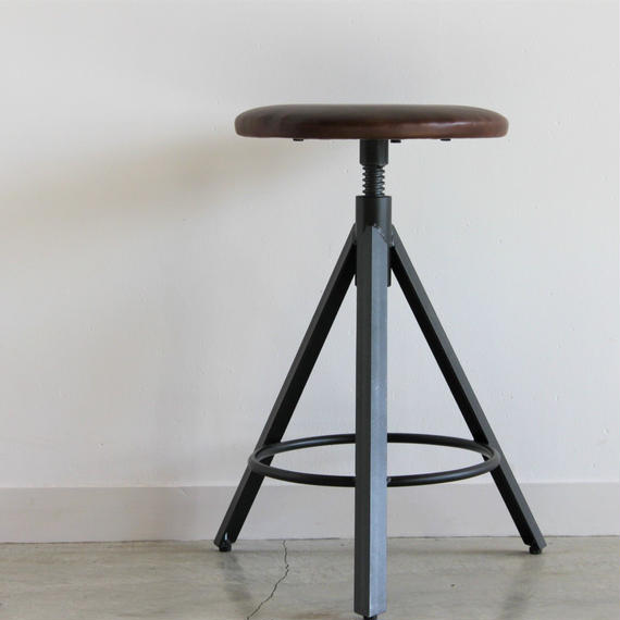 CHINON STOOL LEATHER