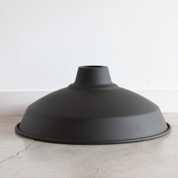 """LAMP SHADE 14"""" matt black"""
