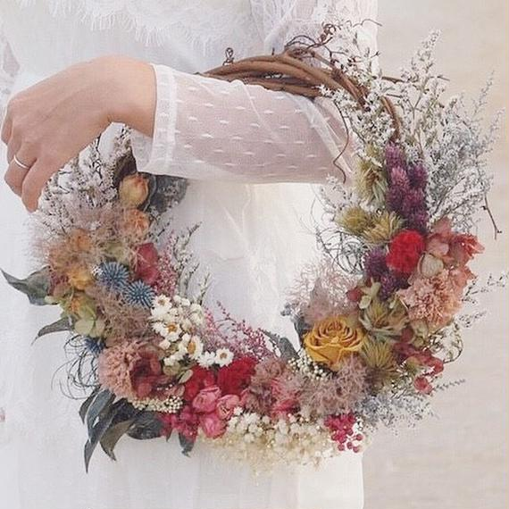 wreath bouquet【nostalgie】