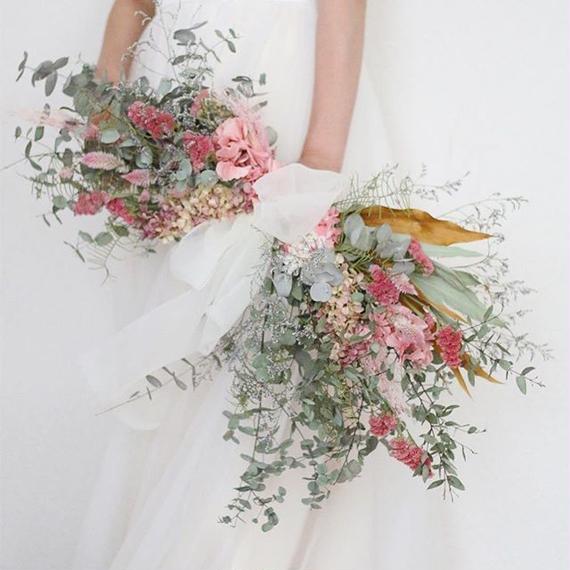 swag bouquet  + boutonniere...2 items set.B