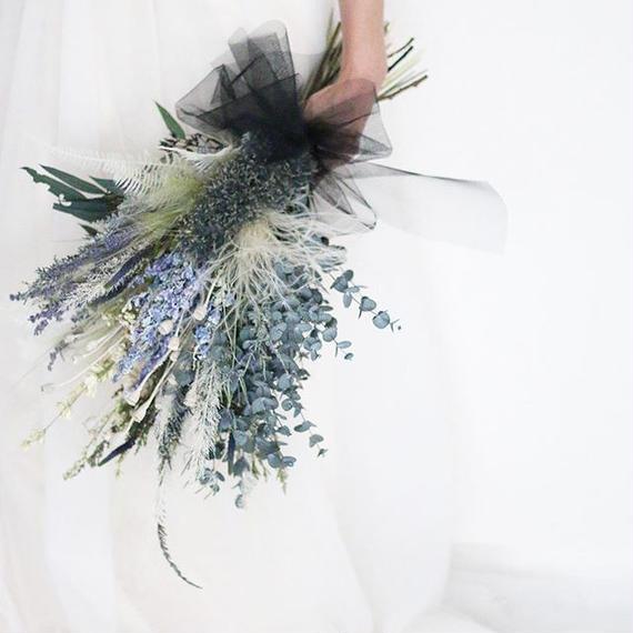 bouquet + headdress+ boutonniere...3 items set.H