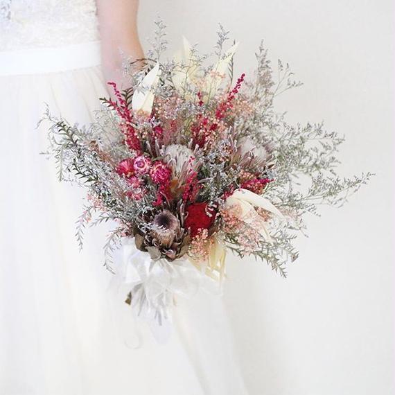 bouquet + boutonniere...2 items set.G