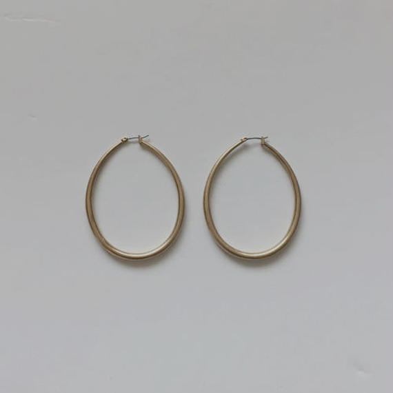 orb hoop piereced earrings
