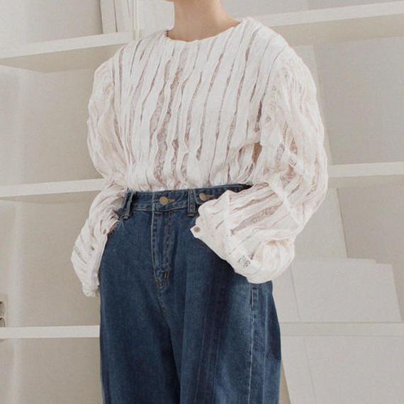 velvet x lace mood blouse