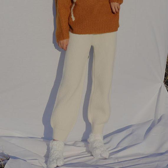 room knit setup -pants-