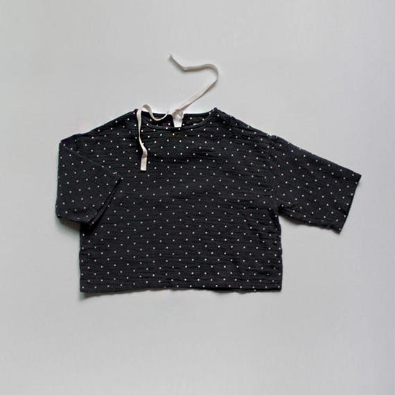 ■for baby■washed cotton dot print pullover