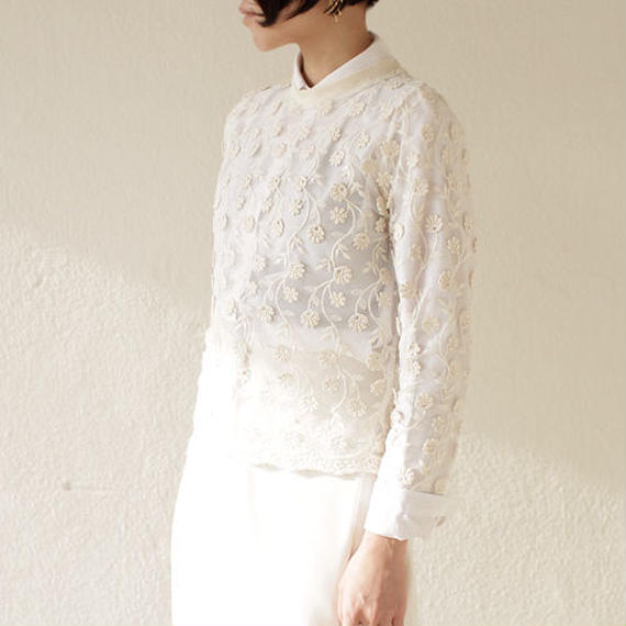 mesh lace dress tops