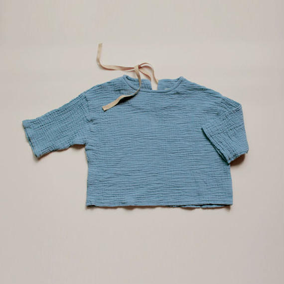■for baby■washed cotton gauze pullover