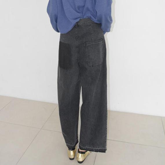 damaged mood denim pants