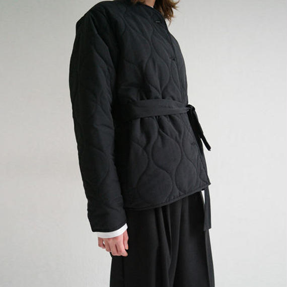 no collar quilting jacket