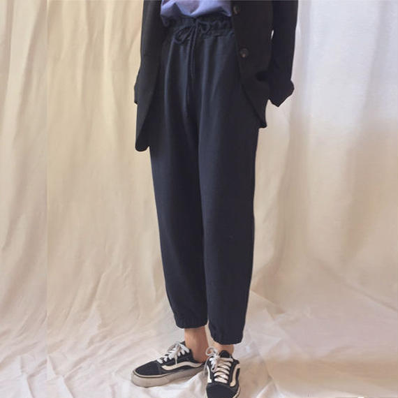 -2colors- relax easy pants