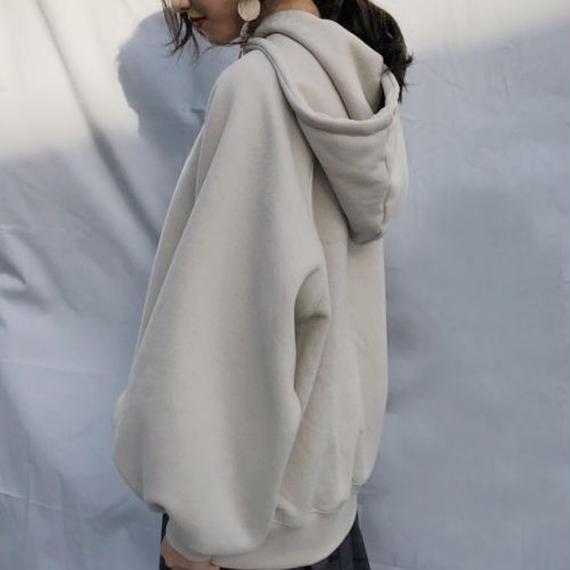 -4 colors- volume sleeve hoodie