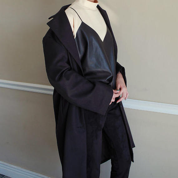 sensitive leather camisole