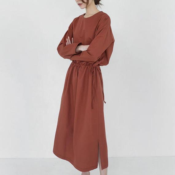 blousing cotton dress