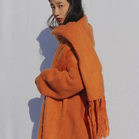 steady muffler -orange-