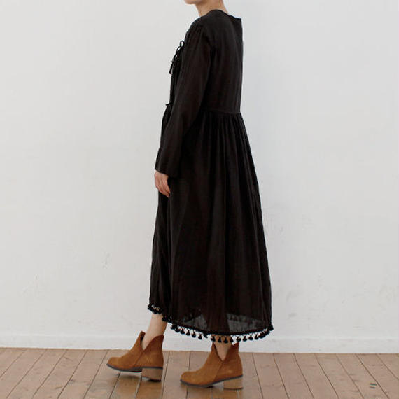 jacquard cotton night dress