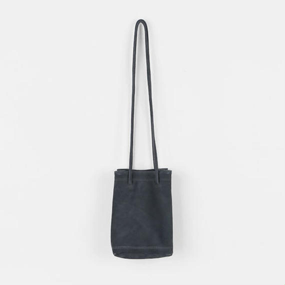 suede letter shoulder bag