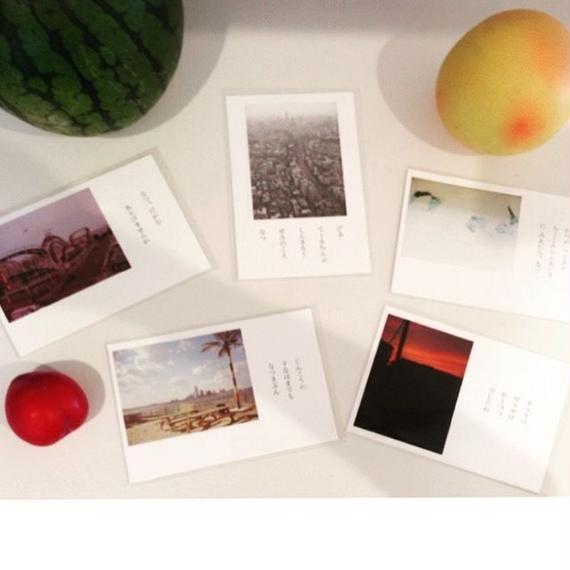 """Daily Scraps"" Post Card(日々の断片・ポストカード)"