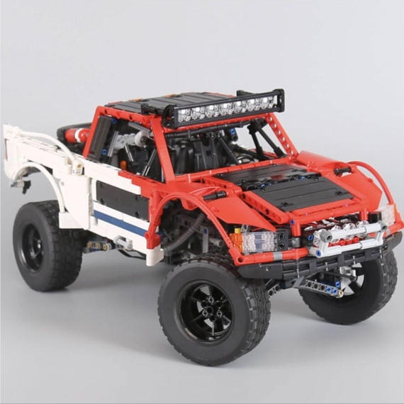 レゴ互換品 SUV ピックアップトラック レッド テクニックシリーズ LEGO互換 2314ピース