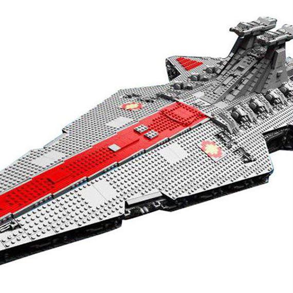 レゴ互換品 リパブリックスターデストロイヤークルーザー 6125ピース ブロック LEGO互換品