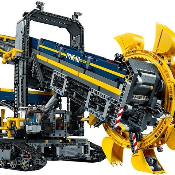 レゴ互換品 テクニック バケット掘削機  LEGO互換 (レゴブロック互換)