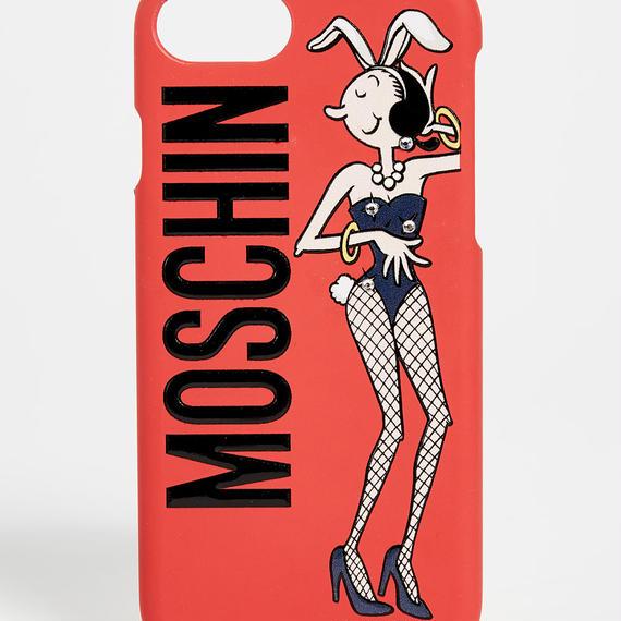 MOSCHINO バニーガール iPhoneケース