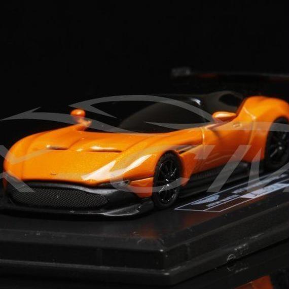 【新品】1/87 Aston Martin Vulcan アストンマーティン ヴァルカン モデルカー オレンジ