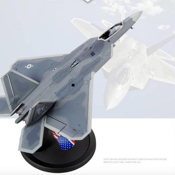 【新品】1/72 F-22 Raptor ラプター ロッキード・マーティン ボーイング モデルエアクラフト 航空機 戦闘機