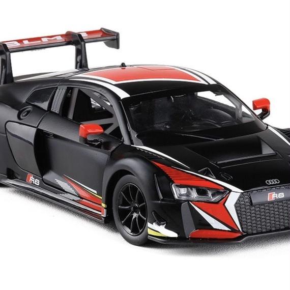 【新品】1/24 アウディ AUDI R8 LMS SPORT CAR モデルカー ブラック レッド