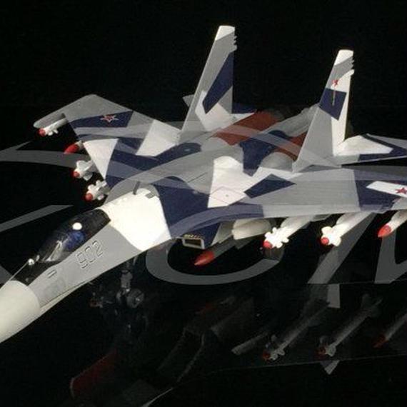 【新品】1/72 Su-35 902 スホーイ35 モデルエアクラフト 航空機