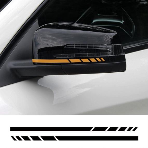 メスセデスベンツ用 ステッカー ミラー サイド 5カラー