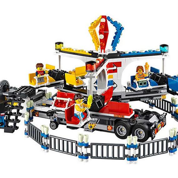 レゴ互換品 アミューズメントパーク カーニバルモデル LEGO互換 1858ピース