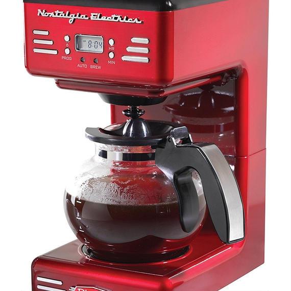 レトロチックな大型コーヒーメーカー