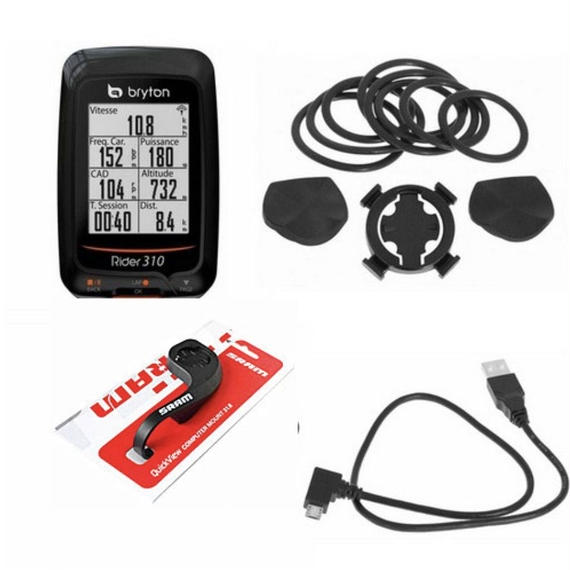 Bryton Rider 310 GPSサイクルコンピュータ セット