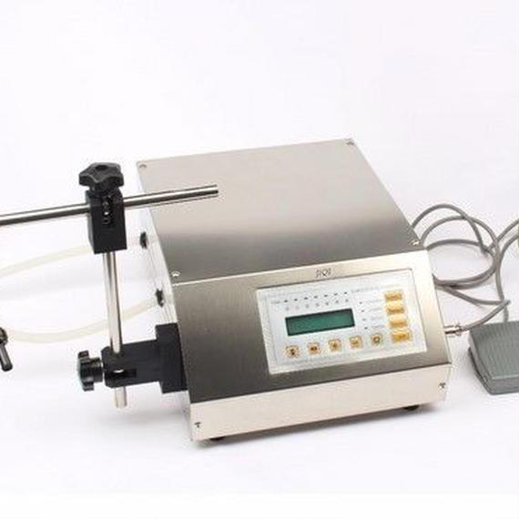 電動液体充填機 飲料・食品油ボトリング装置 コンパクトタイプ
