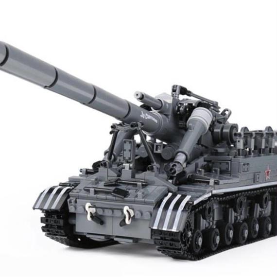 レゴ ( LEGO ) 風互品 T92 軽戦車 ミリタリー レゴ互換品