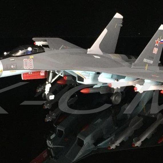 【新品】1/72 Su-35 08 スホーイ35 モデルエアクラフト 航空機