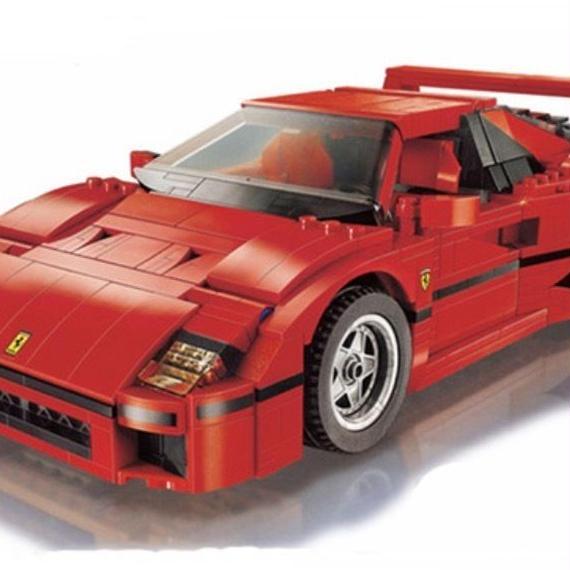レゴ互換品 フェラーリ F40 Ferrarie スポーツカー LEGO互換 1158ピース